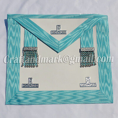 Craft Worshipful Master Apron Lambskin Leather With Free White Cotton Gloves