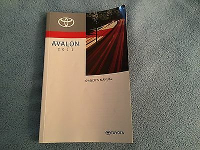 2011 toyota avalon owners manual fast free shipping 22 88 rh picclick com 2011 toyota avalon user manual 2006 Toyota Avalon