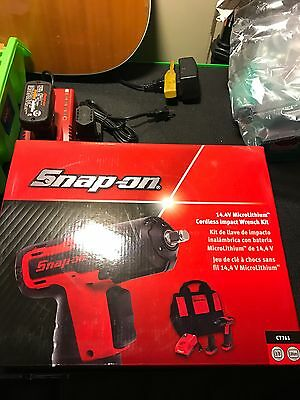 """NEW Snap-on™ Lithium Ion CT761 14.4V 14.4 Volt 3/8"""" drive CordLESS Impact nice"""