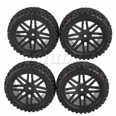 RC 1:10 Off-Road Vehicle 66016 Front 66036 Rear Wheel Rim&Rubber Tyre Tire