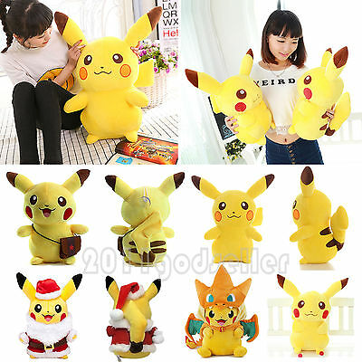 poupée peluche animaux Anime Pokemon Pikachu Soft Plush Toy Stuffed Doll cadeau
