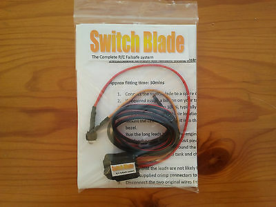 Switchblade ignition kill switch failsafe for HPI Baja FG FTX MCD Losi 5IVE DBXL