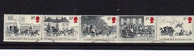 1984 Bicentenary of 1st Mail Coach Run Bath & Bristol to London Fine Used Stamps
