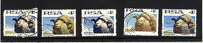 1972 South Africa 4c Sheep and Wool Industry colour variety stamp collection