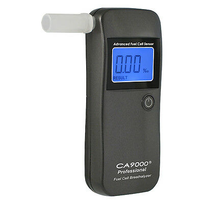 Breathalyzer CA9000® Professional SG. Smart Fuel Cell Sensor. Units to choose.