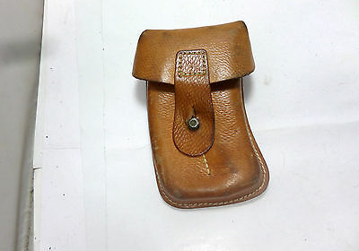 Czech Vz61 Skorpion .32 Acp 20Rd. Mag Leather Pouch