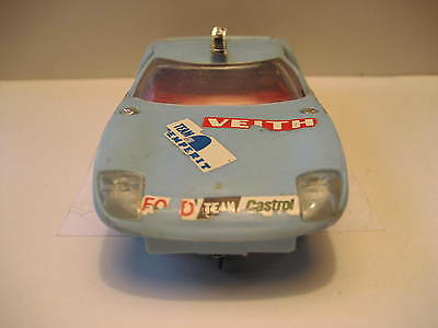 SCALEXTRIC - MADE IN HONG KONG - FORD GT  - 60's.