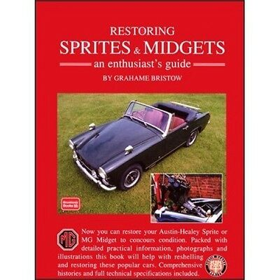 Restoring Sprites & Midgets an Enthusiasts Guide book paper