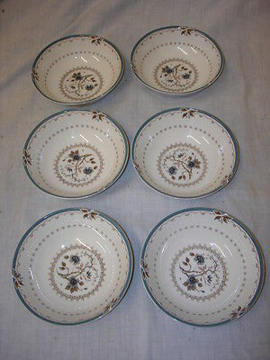 Royal Doulton Old Colony Tc 1005 6  X Bowls Mint Condition