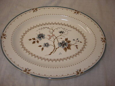 Royal Doulton Old Colony Tc 1005 Oval Serving Plate   Mint Condition (A)