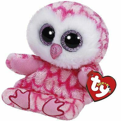 TY Beanie Milly Owl Mobile Phone Rest Holder & Cleaner Peek-A-Boo