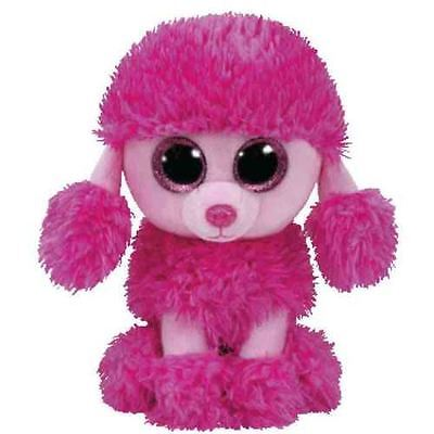 "TY Beanie Beanie Boo 6 Inch Patsy the Poodle Pink - 6"" Collectable Plush"