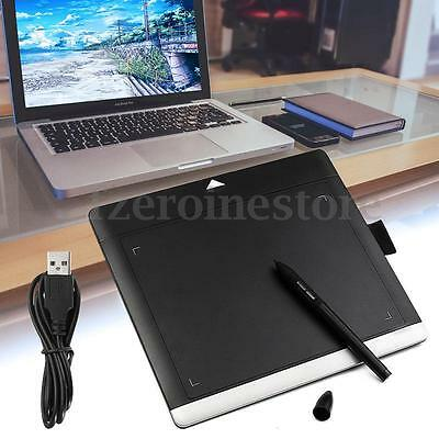 Professional USB Graphic Tablet Art Drawing Painting Board Digital Pad With Pen