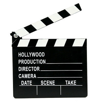 Hollywood Lights Camera Action Directors Cut Novelty Film Clapper - BY TRIXES