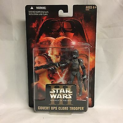 Star Wars ROTS Exclusive Covert Ops Clone Trooper - Variant No Sticker Version