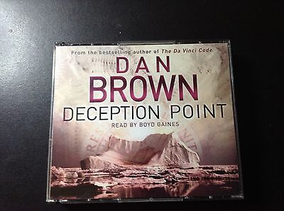 DECEPTION POINT by Dan Brown (AUDIO CD's)