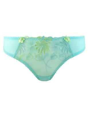 Pour Moi St Tropez Brief Knickers Cool Mint Green 7713 New Womens Lingerie