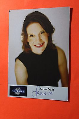 Susie Dent (Countdown) Signed Cast Card