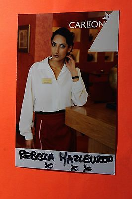 Rebecca Hazlewood (Outsourced) Signed Photo