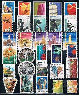 Canada :  30 Used Stamps
