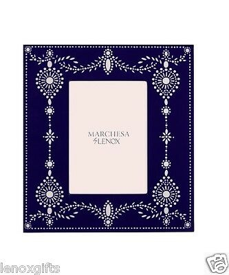 Lenox Marchesa Empire Pearl Lacquer Frame, 5 x 7 New in Gift Box