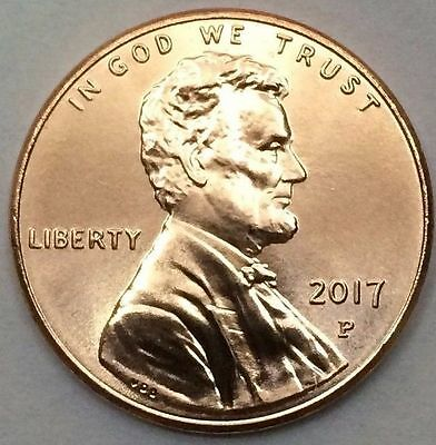 2017 P Lincoln Union Shield Cent/Penny BU, *Two Coin Lot*