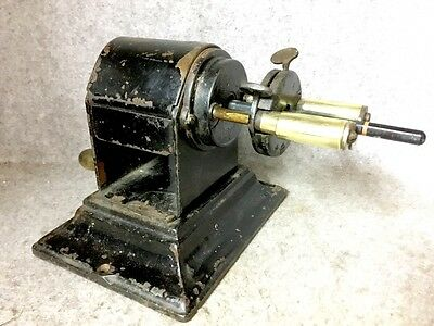 Large Antique Desk Pencil Sharpener from the late 1800's from school or office