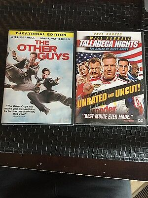 2 -  Will Ferrell - DVD Movies - Talladega Nights & The Other Guys