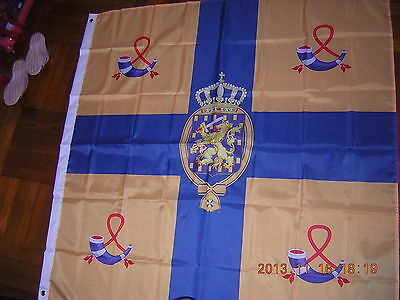 NEW Royal Standard of the Kingdom of  Netherlands Holland Dutch 120X120cm