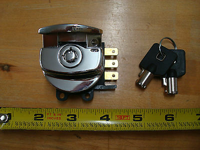1993 - 2010 Hinged Ignition Switch For Harley Davidson Fxdwg Softail Road King