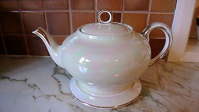 Antique Vintage  Mother Of Pearl Teapot
