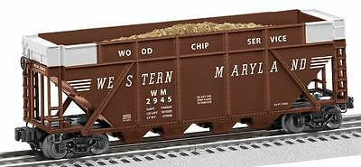 Brand New Lionel O Western Maryland #2945 Wood Chip Hopper # 6-82344