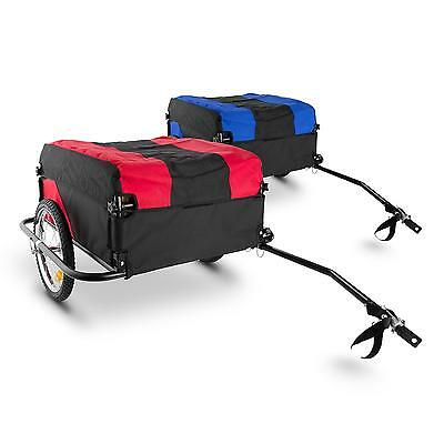 Bike Trailer Cargo Transport foldable carrier luggage wagon handcart bycicle
