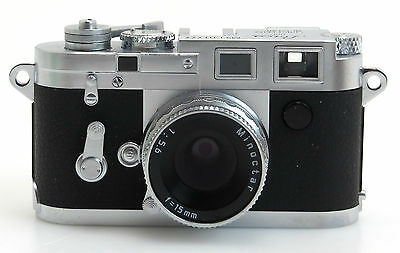 Minox Leica M3 Type No.M3-E01777 mit Minoctar 5,6/15mm, classic collection sn005