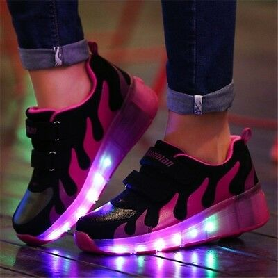 LED Luninious lighted shoes ....rollers