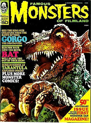 Warren Magazine Famous Monsters Of Filmland #50 Ex Condition