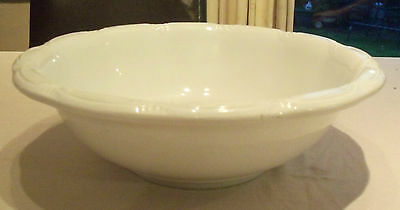 Rare Large Vintage J&G Meakin Ironstone Wash Bowl. Perfect Condition.