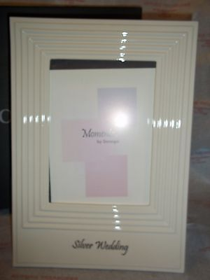Donegal Silver Wedding Anniversary Frame 5 x 7