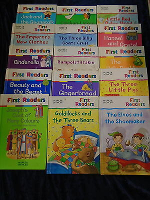 * 15 POPULAR FIRST READERS BOOKS by MARKS & SPENCERS * UK FREE POST* HARDBACKS*