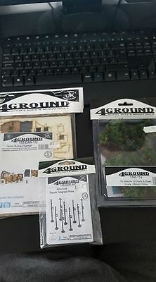 4 Ground Scenery (Flames of War) 15mm NEW