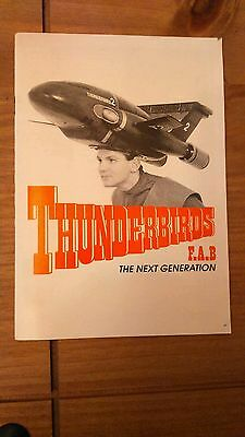 thunderbirds the stage show programme