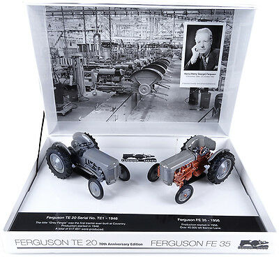 Uh Ferguson Te20 & Fe35 Tractor Limited Edition Box Set 1/32 Scale Pre-Order