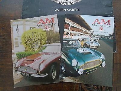 Two Aston Martin Owners Club Quarterly Magazines Summer & Autumn 2004 - NEW