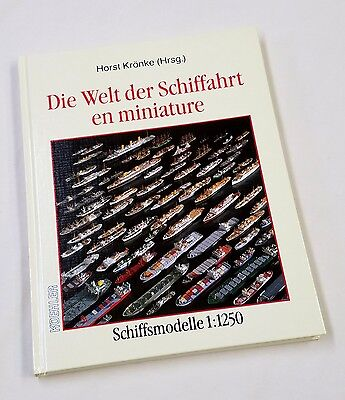 """""""The World of Ships in Miniature"""" - Book on 1/1200 Scale Model Ship Collecting"""