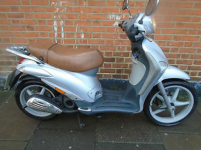 PIAGGIO LIBERTY 50  50cc LEARNER COMUTER SCOOTER NEW MOT