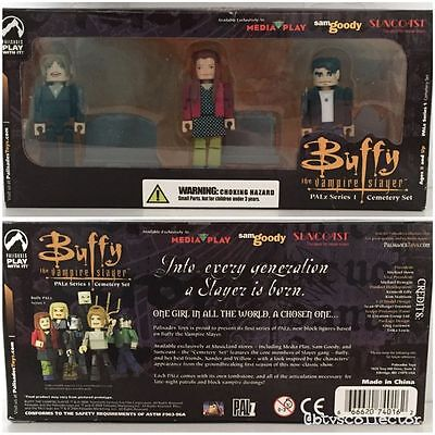 Original Buffy the Vampire Slayer PALZ Series 1 Cemetery Set Palisade Toys NEW
