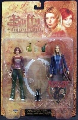 Buffy the Vampire Slayer Willow & Tara Action Figure Together Forever NEW SEALED