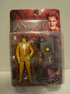 Buffy the Vampire Slayer Angel Lorne Action Figure The House always wins NEW