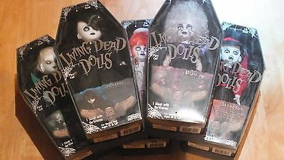 Living Dead Dolls mezco, things with wings, 5 figure set mezco series 21