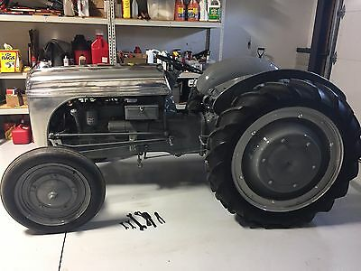 Ford Aluminum Hood 1939 Tractor Full Restoration Museum Quality